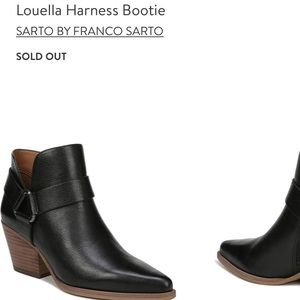 Franco Sarto Leather Louella Bootie Fall Staple